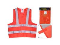 Жилет безопасности светоотражающий (orange) 166 Or  XXL (ЖБ006)