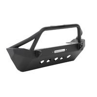 Бампер передний стальной с плитой для лебедки XRC SMITTYBILT для JEEP WRANGLER JK (SB76806)