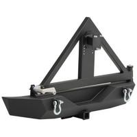 Бампер задний стальной с креплением для запасного колеса XRC SMITTYBILT для JEEP WRANGLER JK (SB76856)
