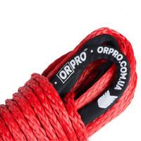 Синтетический трос ORPRO 25м 10мм (красный, с крюком) 12.5т (ORP-TK0052)