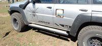 Пороги для Nissan Patrol Y61 GU4 длинная версия