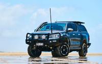 Бампер силовой TJM передний Toyota Hilux 2015+ (070SB13N87D)