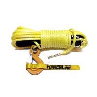 Синтетический трос POWERLINE 10 мм х 28 м, желтый, 10.5т (PLN10X28KCH-Y)