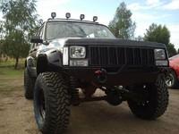 Передний бампер для Cherokee XJ (1984-2001) без кенгурятника (9638)