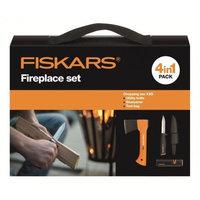 Туристический набор Fiskars (топор Х5 121123 + нож + точилка в сумке) (1025441)