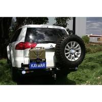 Выносной крепеж запаски KAYMAR правый к заднему бамперу MITSUBISHI Pajero Sport 10+ (K8150R)