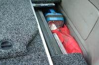 Боковая окантовка к ящикам R/AIR ARB для TOYOTA PRADO120 05ON (PR05AIRFK)