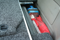 Боковая окантовка к ящикам ARB для TOYOTA HILUX 2005-15 (евро версия, гладкий борт) (HI05ADFK)