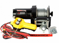 Лебедка для квадроцикла Powerwinch PW2000E-12V 0.9 т (PW2000E-12V)