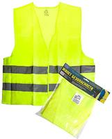 Жилет безопасности светоотражающий (yellow) 116 Y XL (ЖБ003)