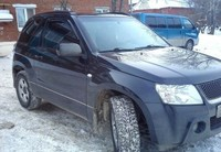 Ветровики Suzuki Grand Vitara XL7 2003- Cobra Tuning (S50399)