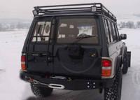 Плита под лебедку на Nissan Patrol Y60