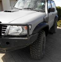 Расширители колесных арок 6 см- KUT SNAKE - Nissan Patrol Y62 с 2010 года