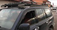 Багажник на Toyota Land Cruiser 100 (LC100, HDJ100, J10, LC105)(1998-2008) без сетки