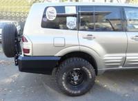 Крепление запасного колеса для MITSUBISHI PAJERO III (1999-2006)