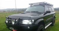 Пороги для модели Nissan Patrol Y61 длинная версия