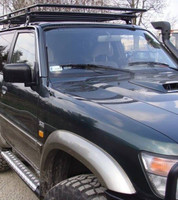 Пороги для модели Nissan Patrol Y61 короткая версия