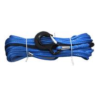 Синтетический (кевларовый) трос для лебедки с крюком 12.5мм 30м FULL DRIVE