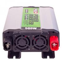 Преобразователь напряжения PULSO/IMU 520/12V-220V/500W/USB-5VDC2.0A/мод.волна/клеммы (IMU-520)