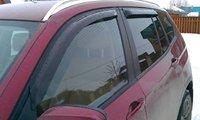 Ветровики на окна (тониров.) EGR BMW X3 11+ # 92410006B