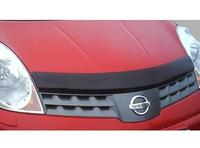 Дефлектор капота (тонированный с лого) EGR NISSAN NOTE 2006-  # SG3464DSL