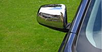 Накладки на зеркала (хромированные)  EGR MITSUBISHI LANCER 07+ MC3933
