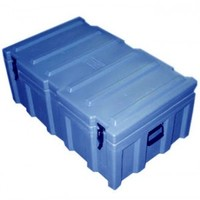 Ящик пластиковый 900x550x400 MOD голубой (BG090055040BL)