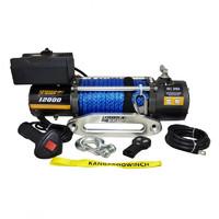 Лебедка электрическая Kangaroowinch K12000SR-12V с синтетическим тросом - 5.4т