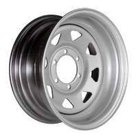 Колесные диски серебрянные лакированные (15x8 6x139.7 ET-25)