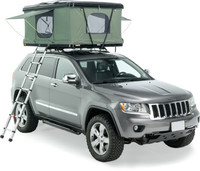 Автомобильная палатка COLUMBUS черный пластик/серая ткань 210*140см