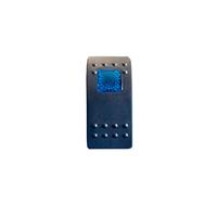 Тумблер переключатель вкл/выкл - индикатор синий (um-vnd-blue-id)