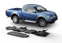 Комплект защит RIVAL с защитой бака 4 mm для Mitsubishi L200 / Triton KAOT 2,5TD 2007-2015 (23333.4015.1)