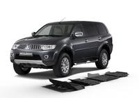 Защита коробки передач RIVAL 6 mm для Mitsubishi Pajero Sport / Challenger / Montero Sport  3,0; 3,2 2007-2015 (2333.4034.1.6)