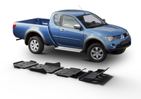 Комплект защит RIVAL без защиты бака 4 mm для Mitsubishi Pajero Sport / Challenger / Montero Sport  3,0; 3,2 2007-2015 (23333.4032.1)