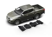 Комплект защит RIVAL без защиты бака 4 mm для Mitsubishi L200 / Triton KL 2,4D 2015- (23333.4046.2)