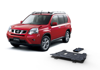 Комплект защит RIVAL 4 mm для Nissan X-Trail T31 4WD 2,0; 4WD 2,5 only! 2007-2013 (23333.4119.1)
