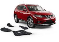Комплект защит RIVAL 4 mm для Nissan X-Trail T32 4WD 2,0; 4WD 2,5 only! 2014- (21111.4152.1)