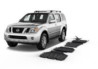 Комплект защит RIVAL без защиты бака 4 mm для Nissan Pathfinder R51 2,5; 2,5D V6; 3,0 2005-2014 (23333.4164.1)