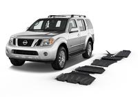 Комплект защит RIVAL с защитой бака 6 mm для Nissan Pathfinder R51 2,5; 2,5D V6; 3,0 2005-2014 (23333.4172.1.6)