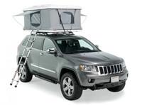 Автомобильная палатка COLUMBUS белый пластик/серая ткань 210*125см