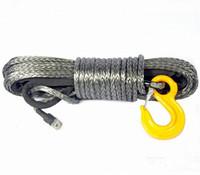 Синтетический (кевларовый) трос для лебедки 10мм 30м FULL DRIVE