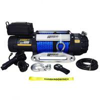 Лебедка электрическая Kangaroowinch K12500 Extreme HD 12V с синтетическим тросом - 5.4т