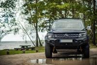 Передний бампер RIVAL для Volkswagen Amarok  all 2010-2016, 2016- (2D.5807.1-NL)