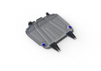 Защита двигателя и коробки передач RIVAL 4 mm для Mitsubishi Outlander  2,0; 2,4 2007-2012 (2333.4016.3)
