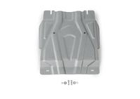 Защита коробки передач RIVAL 4 mm для Mitsubishi Pajero Sport   2,4; 3,0 2016- (2333.4047.2)