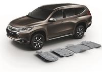 Комплект защит RIVAL без защиты бака 4 mm для Mitsubishi Pajero Sport   2,4; 3,0 2016- (23333.4046.2)