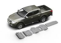 Комплект защит RIVAL с защитой бака 4 mm для Mitsubishi L200 / Triton KL 2,4D 2015- (23333.4048.1)