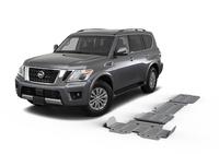 Комплект защит RIVAL 4 mm для Nissan Patrol Y62 5,6 2010-