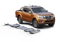 Комплект защит RIVAL без защиты бака 6 mm для Nissan Navara D40 2,5D; 3,0 2005-2015 (23333.4164.1.6)