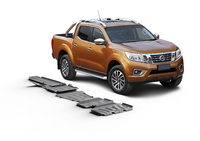 Комплект защит RIVAL с защитой бака 6 mm для Nissan Navara D40 2,5; 2,5TD V6; 3,0; 4,0 2005-2015 (23333.4172.1.6)